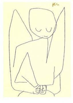 Paul Klee, Vergeetachtige engel, 1939